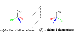 Stereoisomers are molecules that have the same chemical formula, but differ in their arrangement at a chiral center.