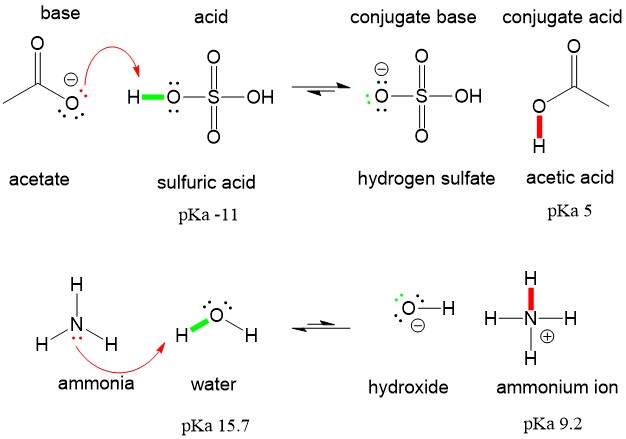 Reviewing Acid Base Definitions Organic Chemistry Help