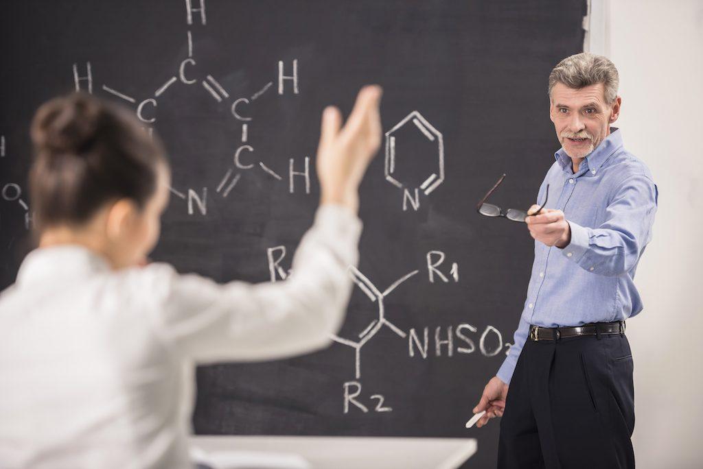 Hard Organic Chemistry Professor