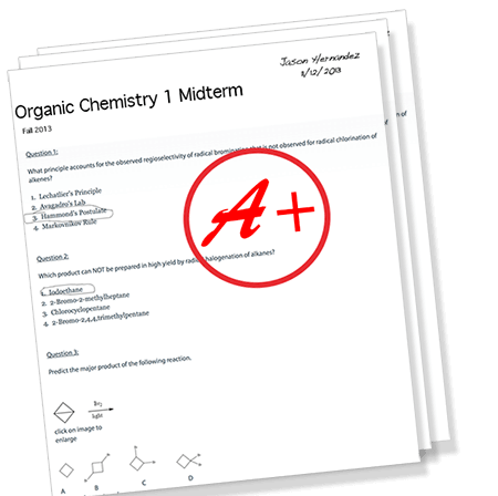 we guarantee you will pass organic chemistry